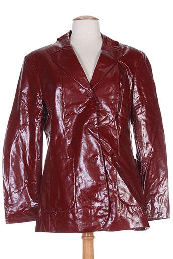bandolera vestes femme de couleur rouge