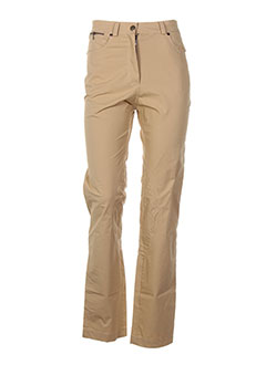 Pantalon casual jaune CORYLOO pour femme