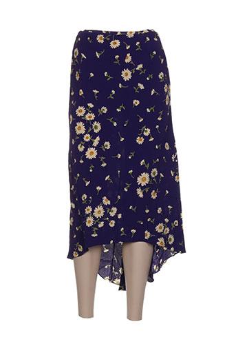 isabel de pedro jupes femme de couleur violet