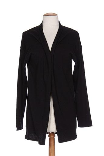 brandtex vestes femme de couleur noir