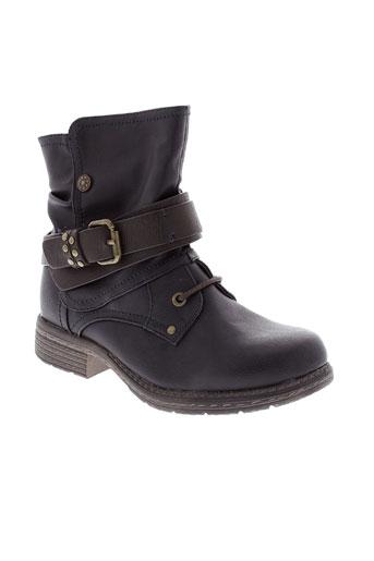 bm boots fille de couleur bleu