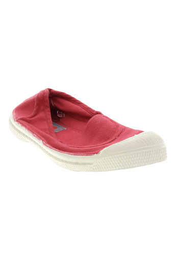 bensimon chaussures fille de couleur orange