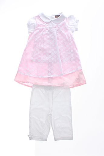 wiplala t et shirt et pantalon fille de couleur rose