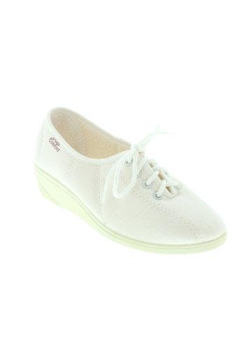la maison de l'espadrille chaussures femme de couleur blanc