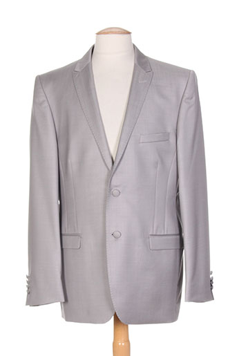 Veste chic / Blazer gris FRANCK ELISEE pour homme