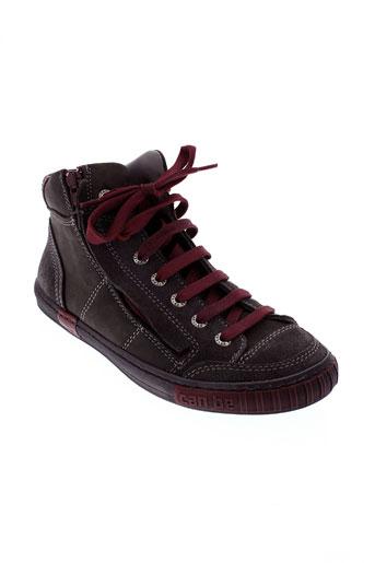 can be chaussures garçon de couleur gris