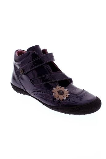 mod 8 chaussures fille de couleur violet
