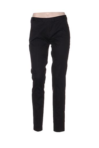 zapa pantalons femme de couleur noir