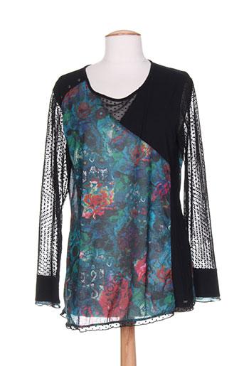 felino chemises femme de couleur noir