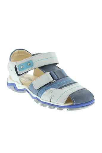 bellamy sandales et nu et pieds garcon de couleur bleu