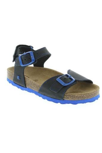 reqins chaussures enfant de couleur bleu