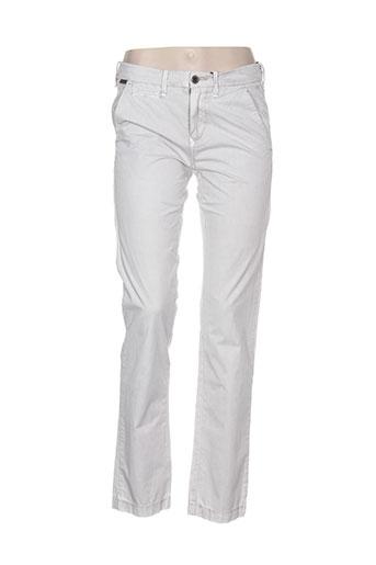 guess pantalons femme de couleur gris