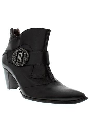 france et mode boots femme de couleur noir