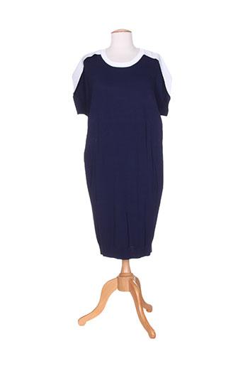 isabel de pedro robes femme de couleur bleu
