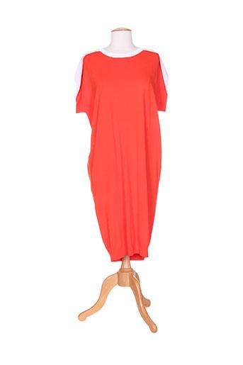 isabel de pedro robes femme de couleur rouge