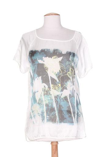 eleonora amadei chemises femme de couleur blanc
