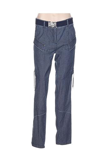 mc et planet pantalons et decontractes femme de couleur bleu