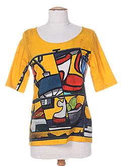 Produit-T-shirts / Tops-Femme-AVENTURES DES TOILES