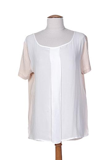 rodika chemises femme de couleur beige