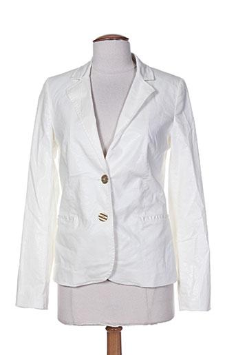 rivieres de lune vestes femme de couleur blanc
