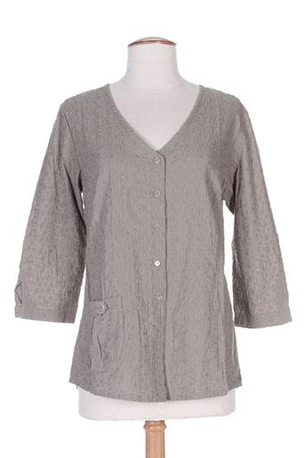 chrismas's chemises femme de couleur gris