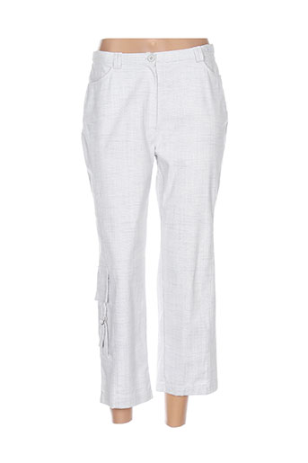 chrismas's pantalons femme de couleur gris