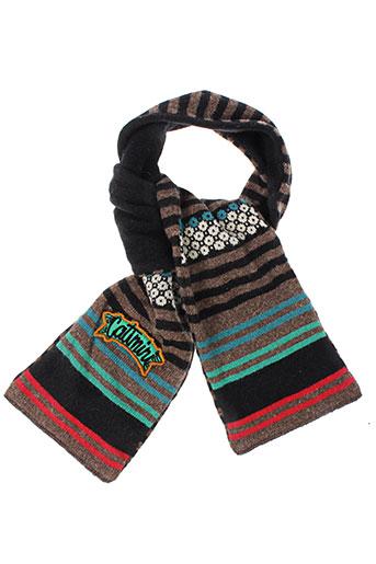 catimini echarpes et gants fille de couleur marron