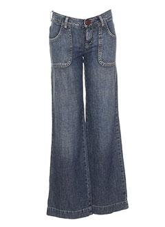 Jeans coupe large bleu IKKS pour fille