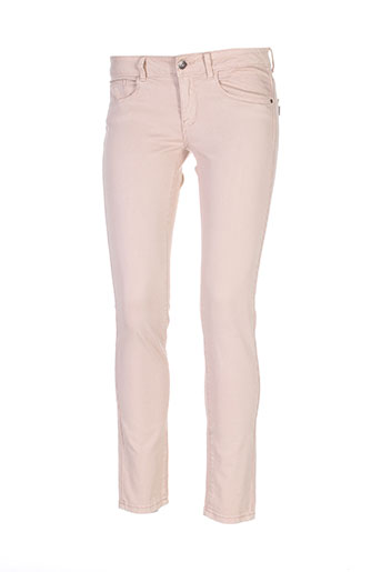 tiffosi pantalons femme de couleur beige