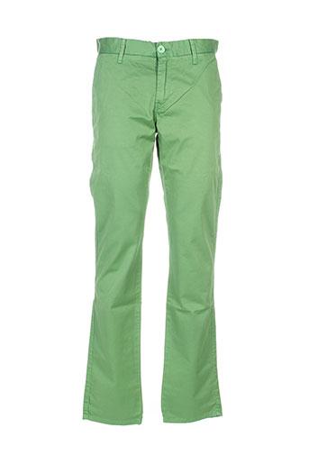 tiffosi pantalons homme de couleur vert