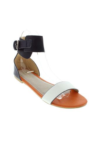 tiffosi sandales et nu et pieds femme de couleur blanc