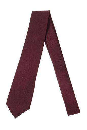 daniel et hechter cravates homme de couleur rouge