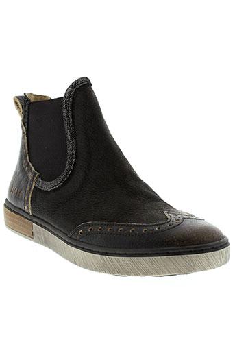dkode boots femme de couleur noir