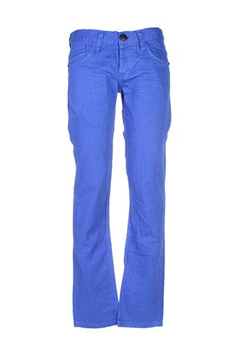 kingz jeans homme de couleur bleu