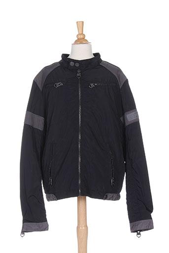 redskins manteaux garçon de couleur noir