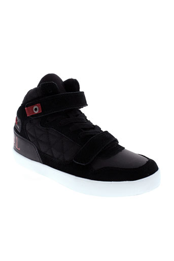 kaporal chaussures garçon de couleur noir