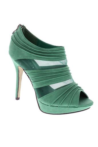 jennika sandales et nu et pieds femme de couleur vert