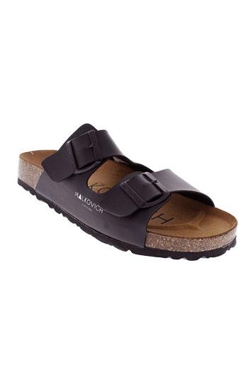 malkovich chaussures homme de couleur noir