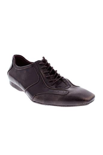 freeside chaussures homme de couleur marron