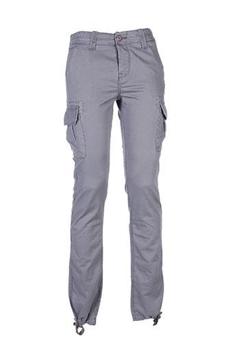 crossby pantalons et decontractes homme de couleur gris