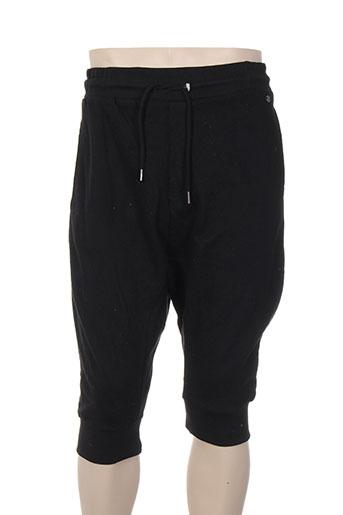 deeluxe shorts / bermudas homme de couleur noir