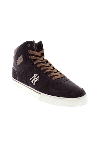 new york yankees chaussures homme de couleur gris