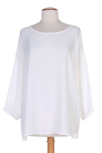 andamio blouses femme de couleur blanc