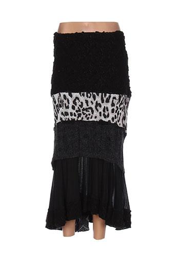 caty et lesca jupes et longues femme de couleur noir