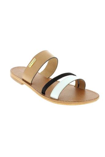 les tropeziennes chaussures femme de couleur blanc