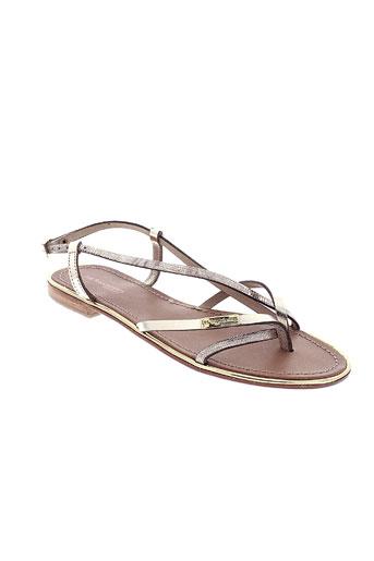 les et tropeziennes sandales et nu et pieds femme de couleur jaune