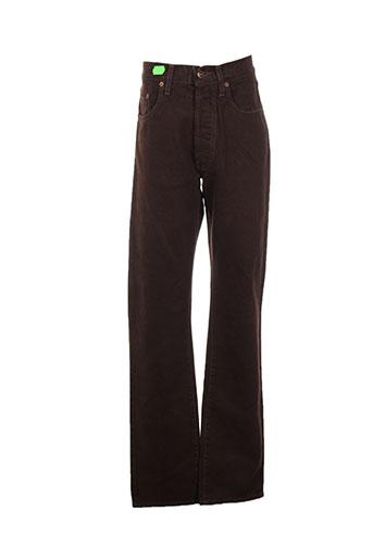 teddy smith jeans homme de couleur marron