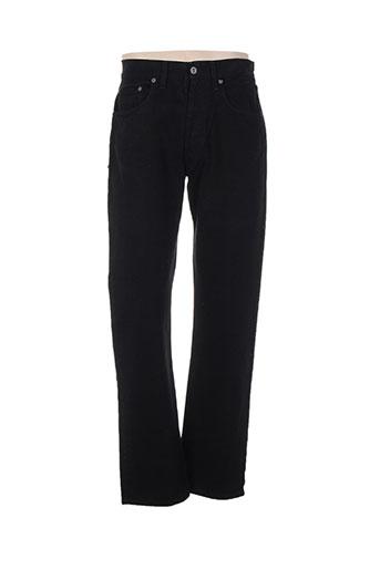 teddy smith pantalons homme de couleur noir
