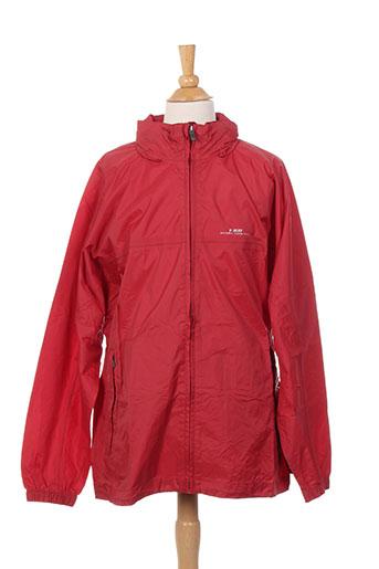 k. way manteaux enfant de couleur rouge