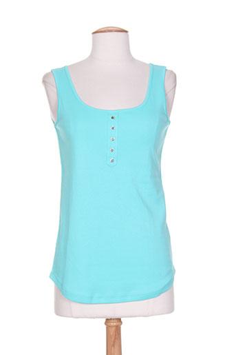 marble t-shirts femme de couleur bleu